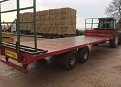 Marshall 25ft Bale Trailer