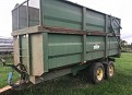 Richard Western Silage Trailer
